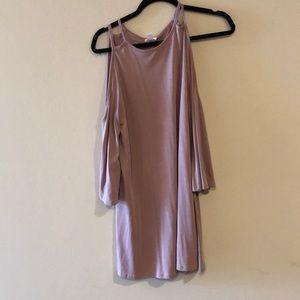 Pink bp dress